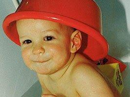 Ambulante Kinderkrankenpflege - Baby baden